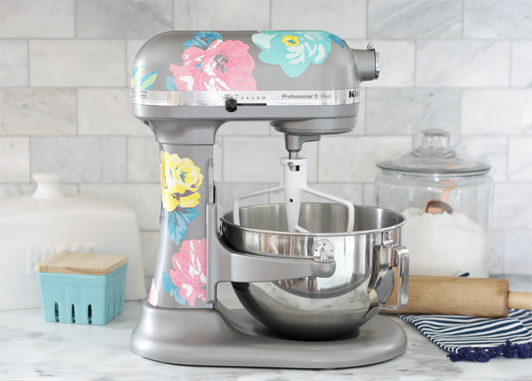 how to make custom kitchenaid decals