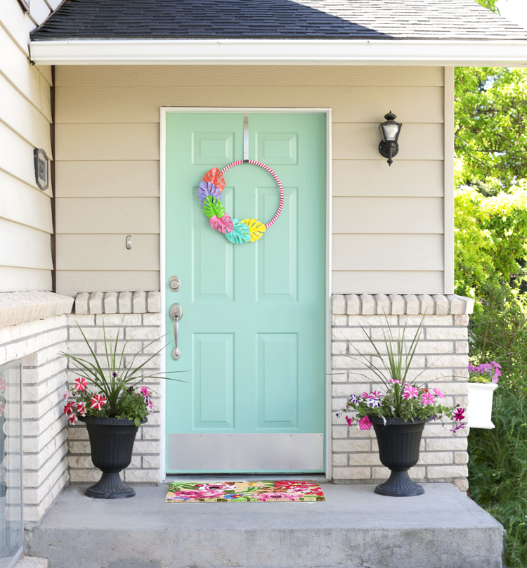 diy summer front porch