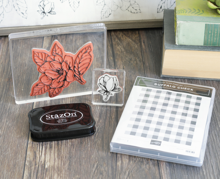 farmhouse style rubber stamps