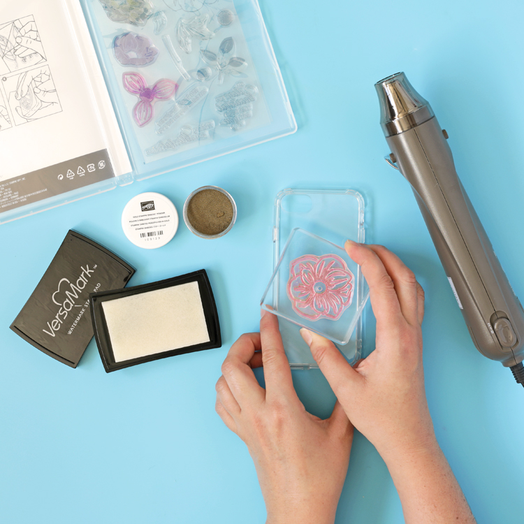 how to emboss a phone case