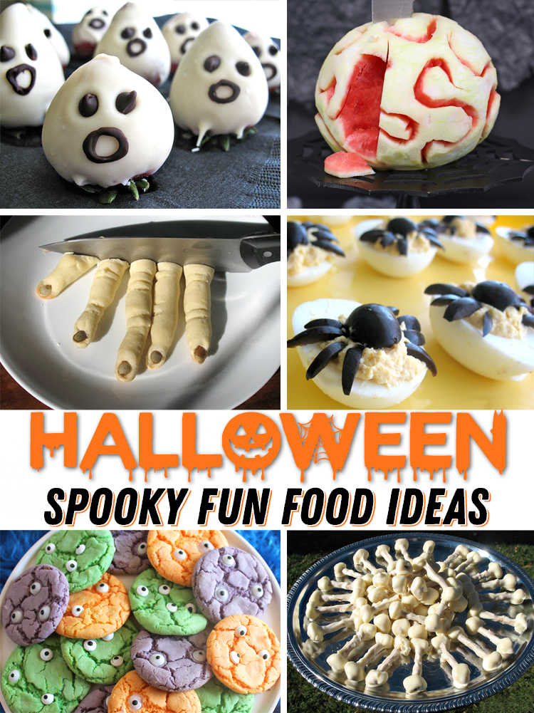 halloween creepy food ideas