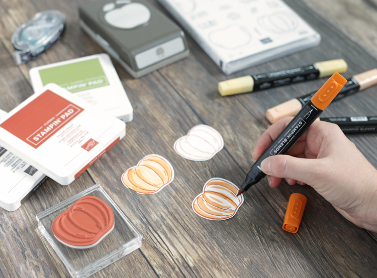 stampin up stampin blends craft