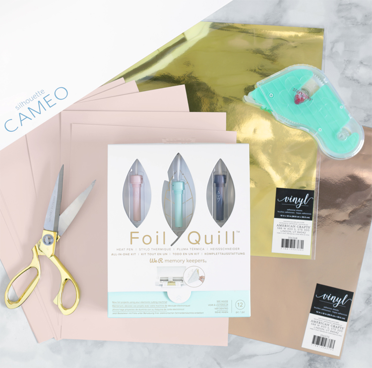 foil quill craft ideas