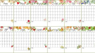 Floral Touches Calendar