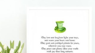 An Irish Blessing Printable