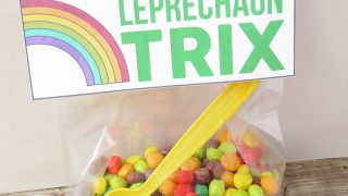Leprechaun Trix Bag Topper