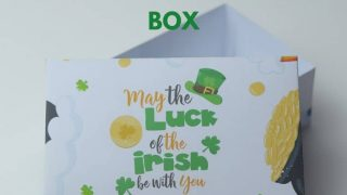 DIY ST. Patrick's Day Favor Box