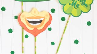 FREE Printable St. Patrick's Day Photo Props