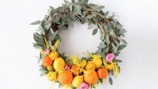 Citrus Spring Wreath