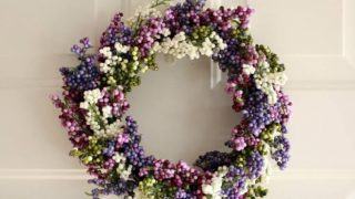 Purple Berry Spring Wreath