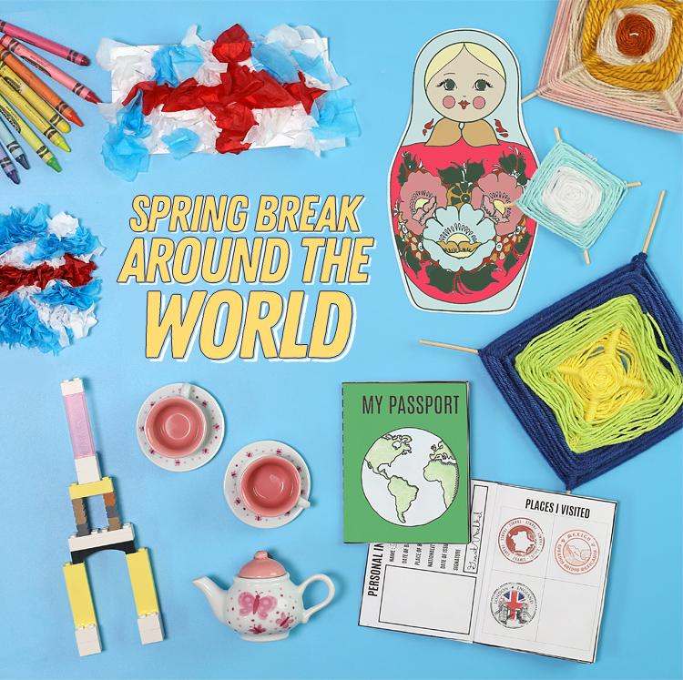 spring break around the world activity for kids
