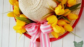 Sun Hat Spring Wreath