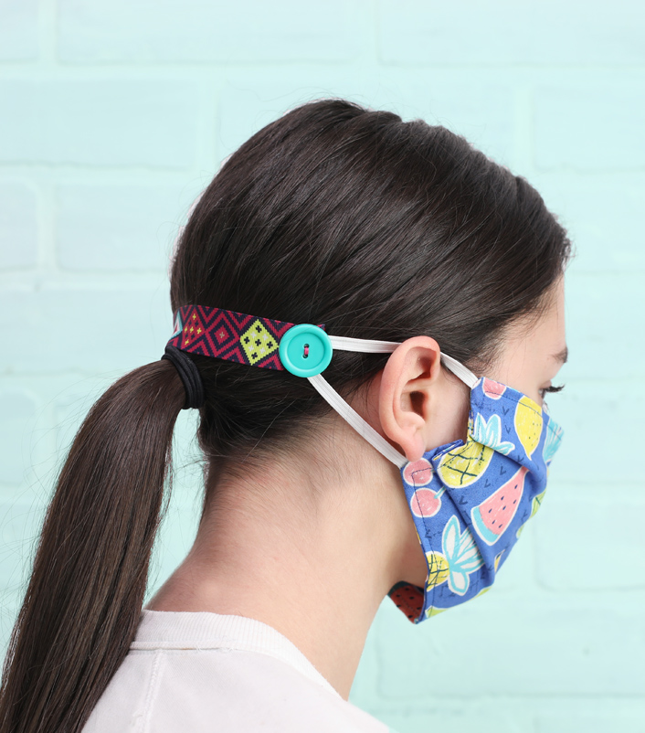 Easy Diy Ear Savers To Wear With Face Masks