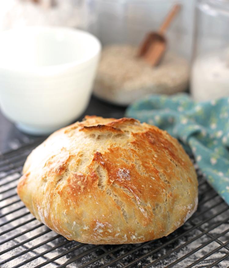 no knead dutch oven bread