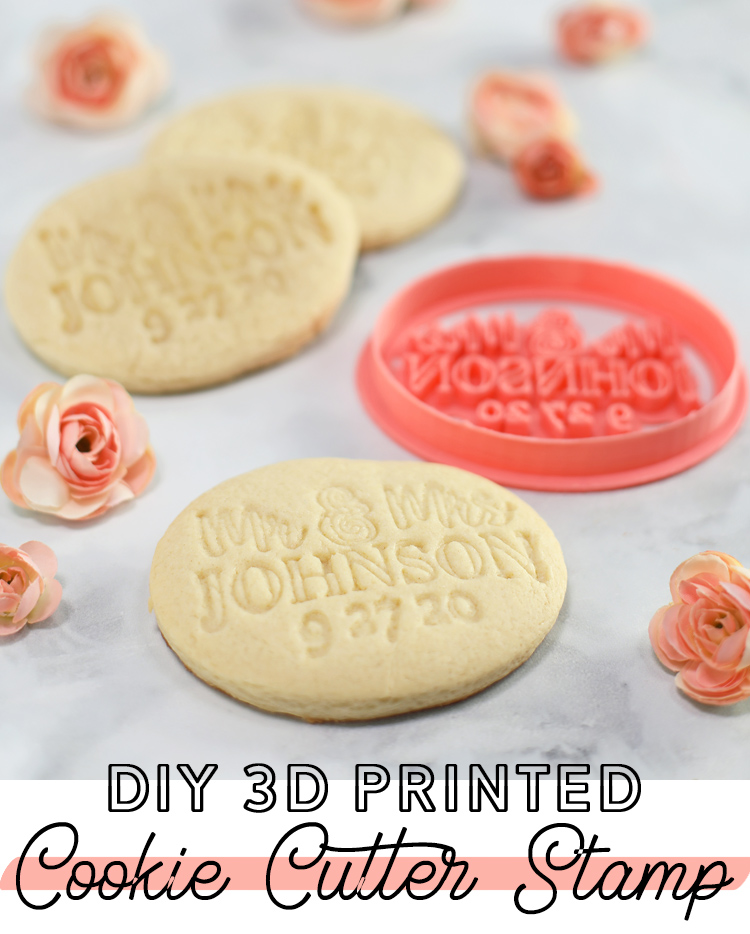 diy 3d printed cookie cutter stamp