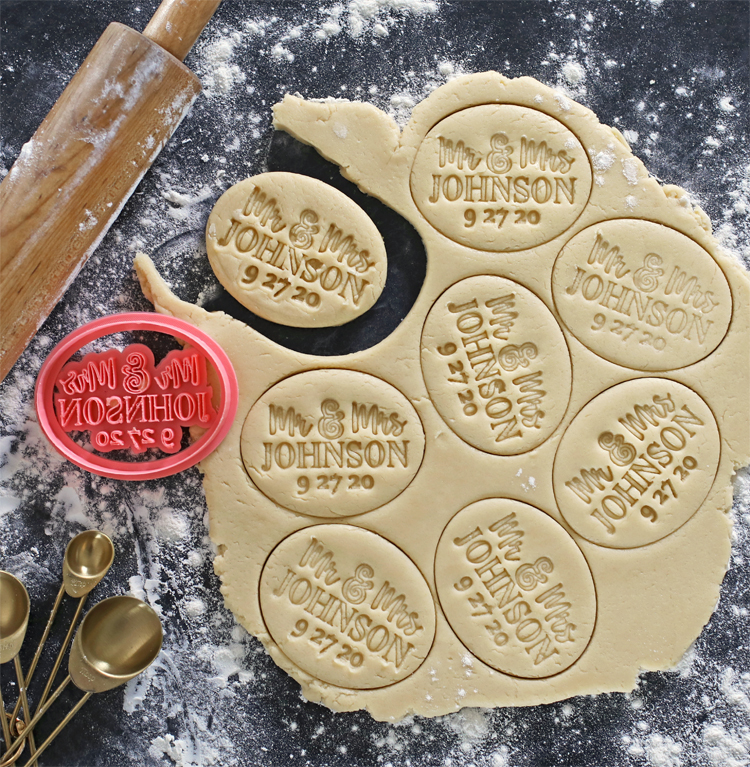 diy cookie stamp with a 3d printer