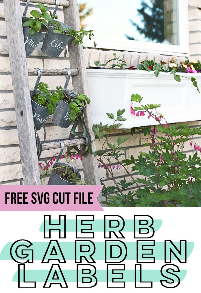 herb garden planter idea