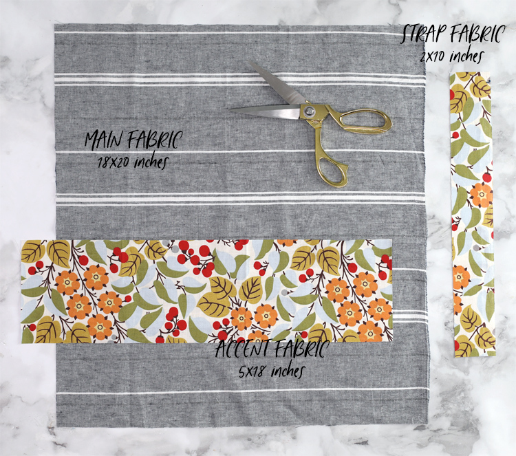 fabric cut sizes