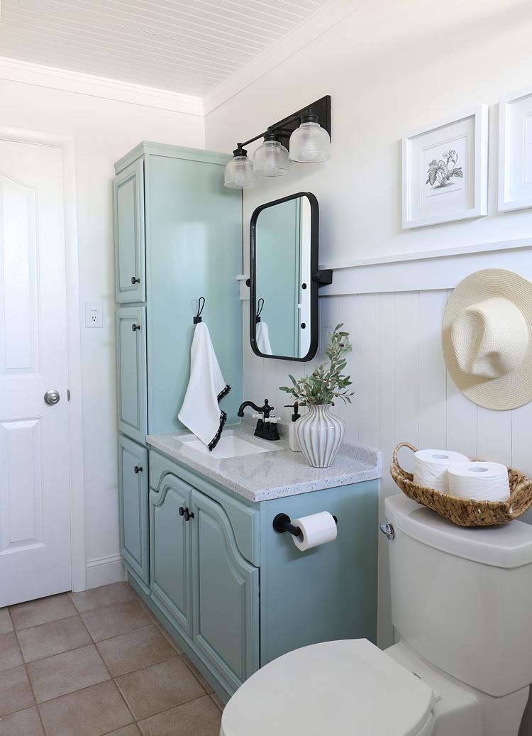 diy budget bathroom remodel