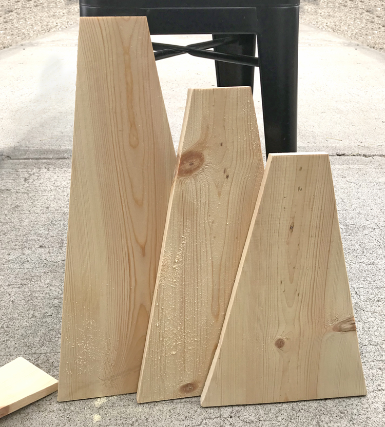 wood craft with one board