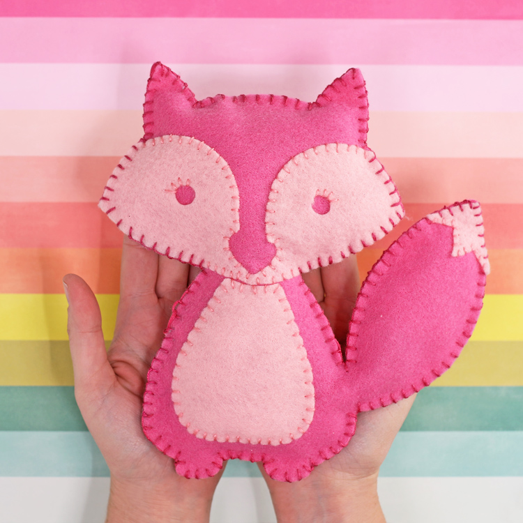 felt stuffed animal tutorial