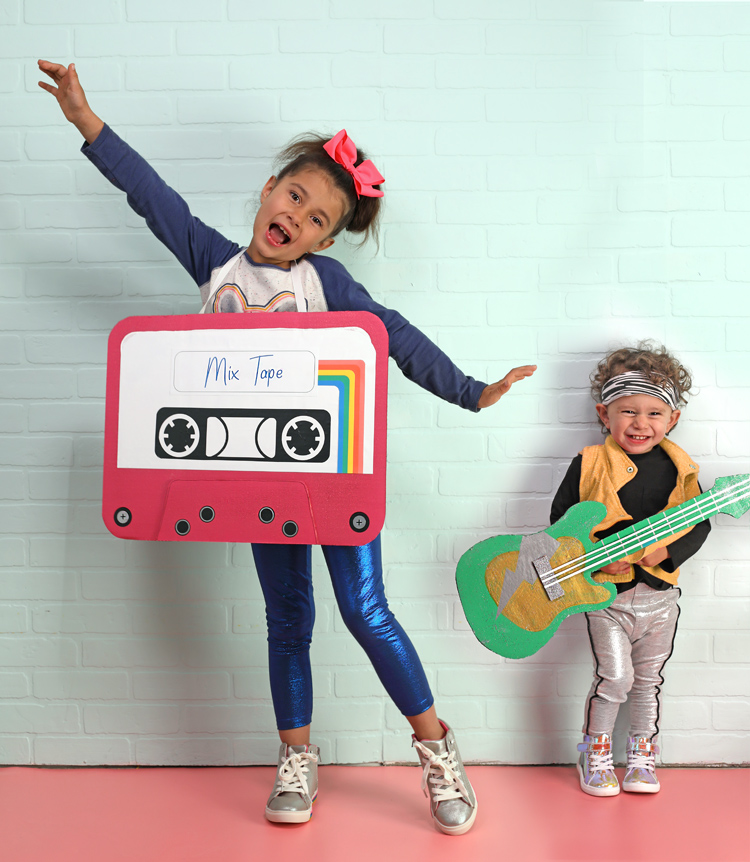 80's Halloween costumes for siblings