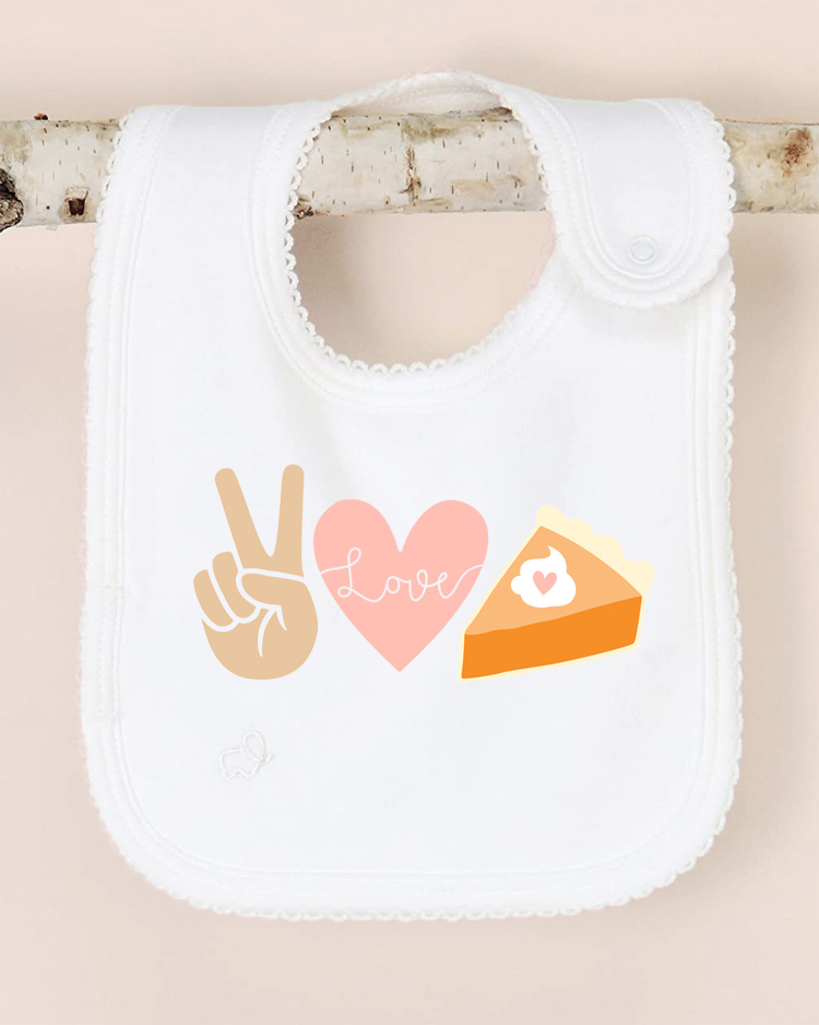 thanksgiving diy baby bib