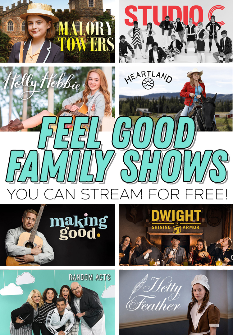 feel good family shows you can stream for free