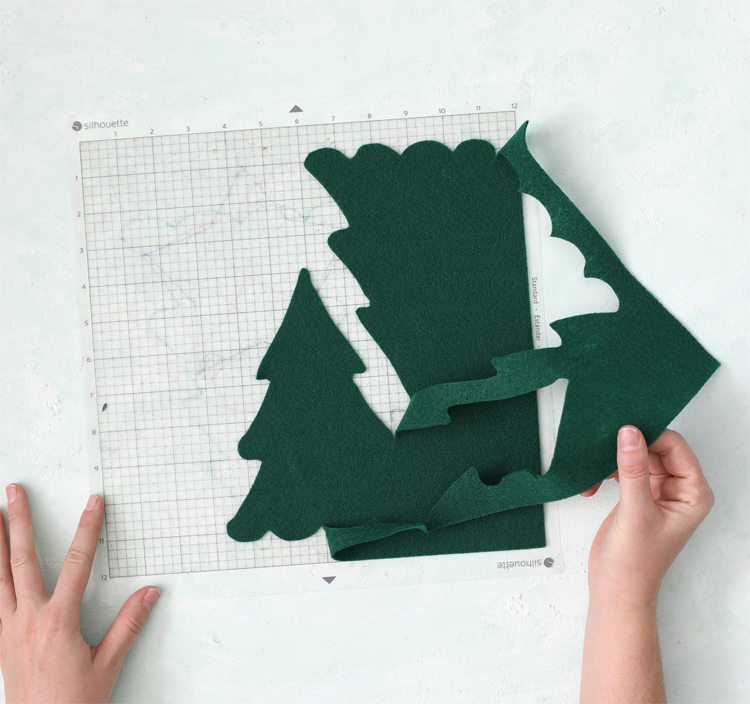 cutting felt with the silhouette cameo 4