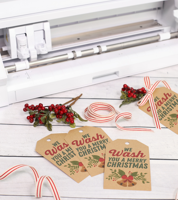 free print and cut christmas soap gift tags