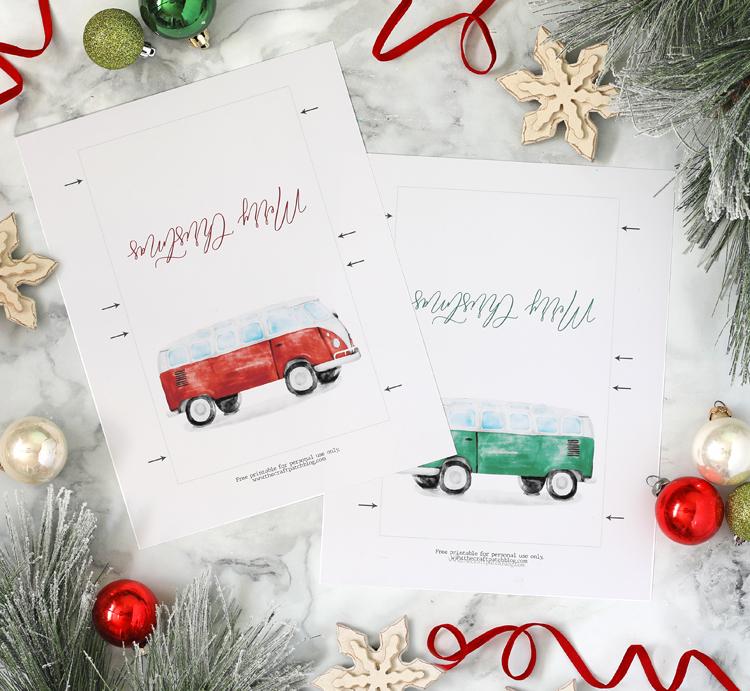 free printable christmas gift idea