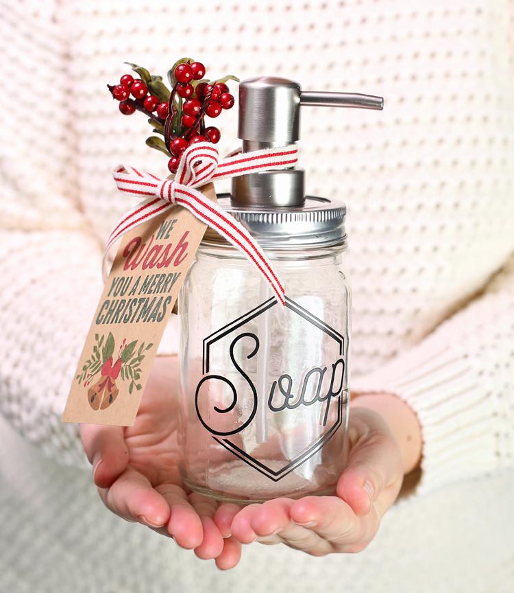 christmas soap gift idea