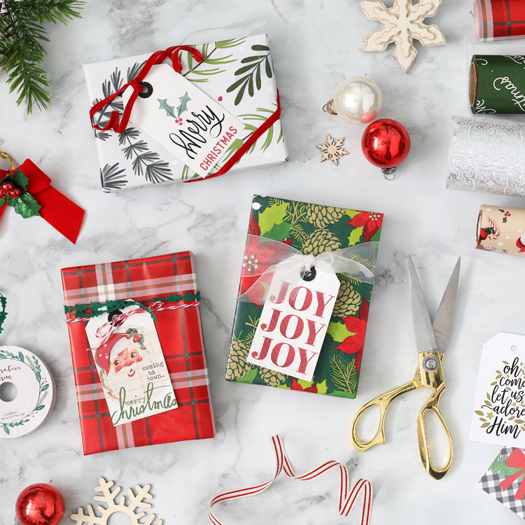 print and cut christmas gift tags silhouette