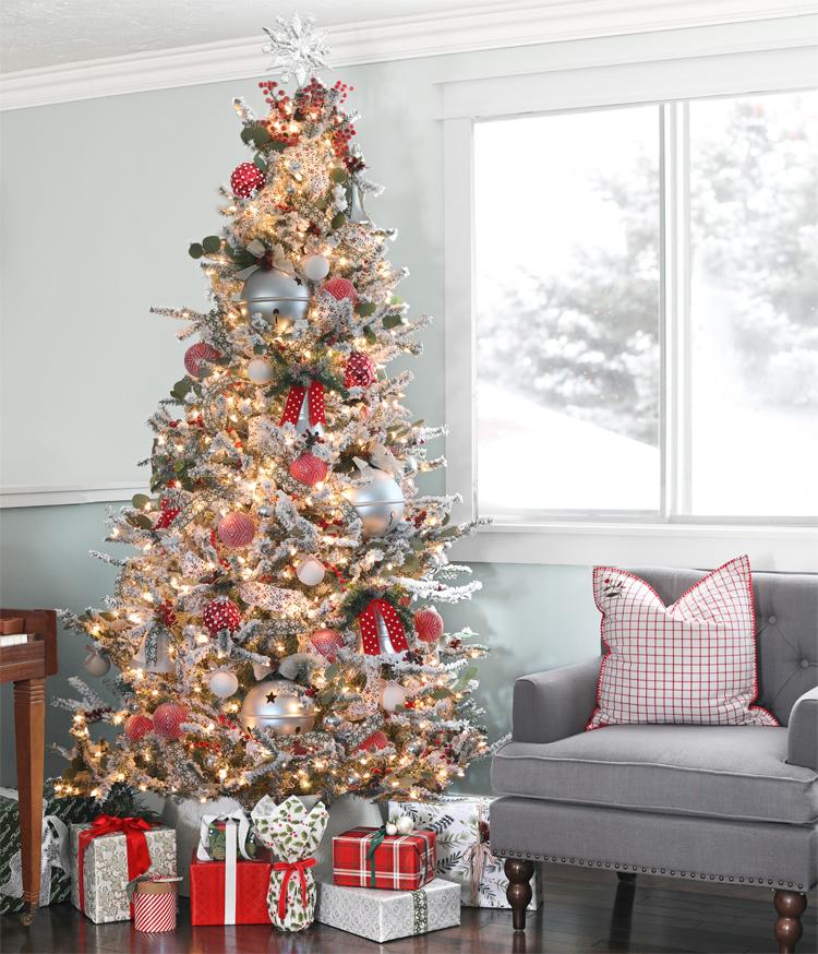 traditional christmas tree decorating ideas