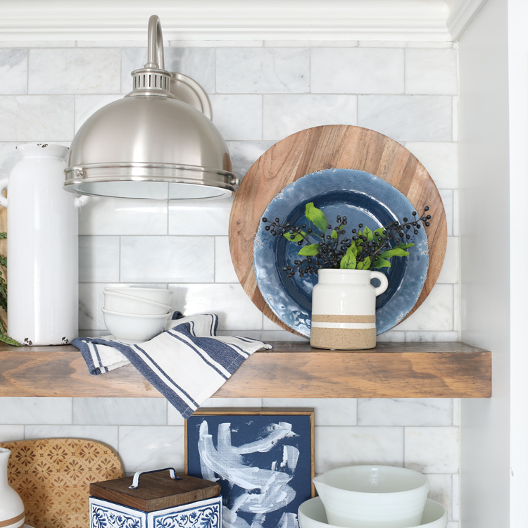 home decorating tips layering items