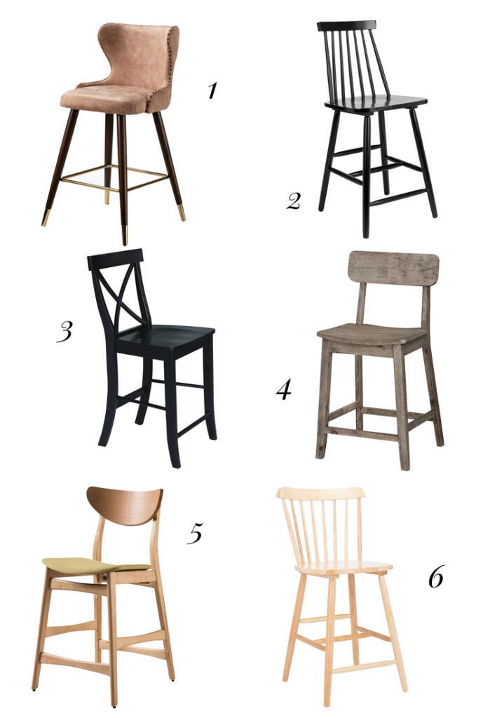 affordable counter height stools