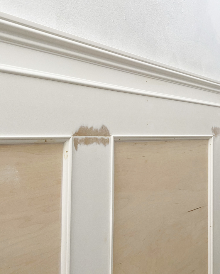 inset box wall moulding