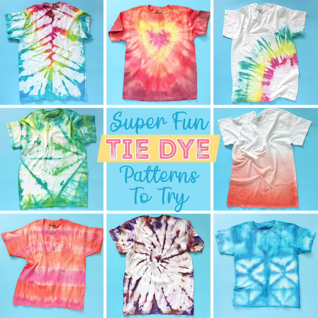 how to tie dye cool patterns