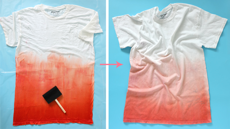 ombre tie dye how to