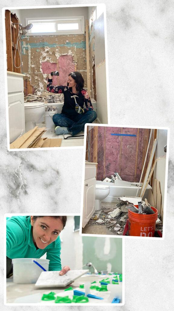 DIY bathroom renovation budget