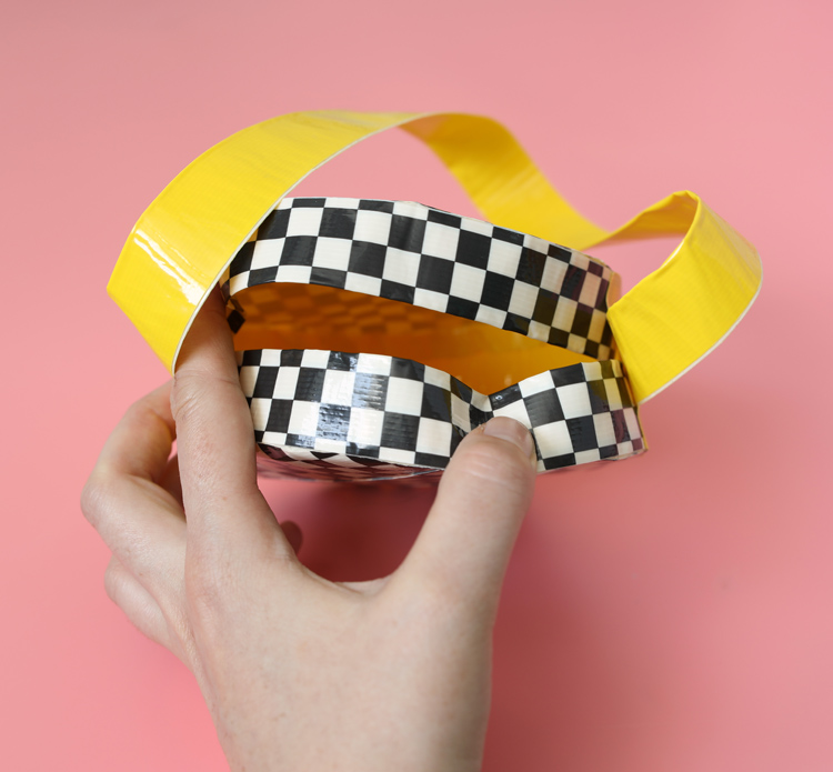 diy purse from duck tape