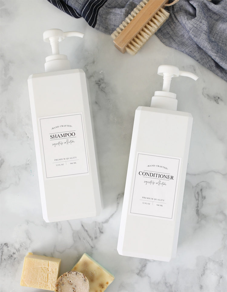 free printable bathroom labels soap pump bottle
